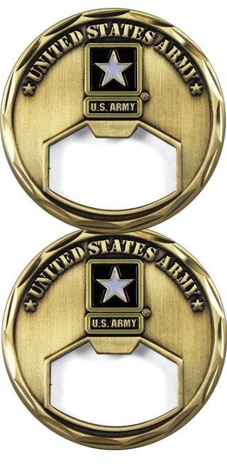army bottle opener challenge coin. Black Bedroom Furniture Sets. Home Design Ideas