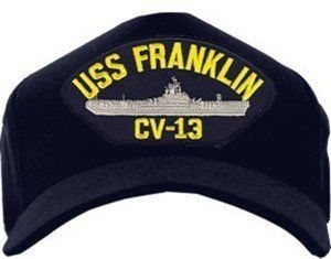 61d830580adfb USS Franklin CV-13 Emblematic Ball Cap