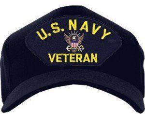 US Navy Veteran Ball Cap b56472c17fe