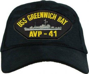 Uss Greenwich Bay Avp 41 Cap